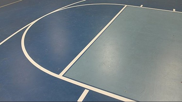 School officials in a South Carolina district say potentially hazardous mercury vapor has been seeping from gym floors at four schools.