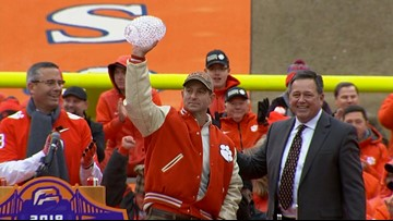 Clemson 'the best ever, drop the mic,' says Dabo Swinney
