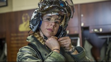 South Carolina Marine becomes first female F-35B pilot