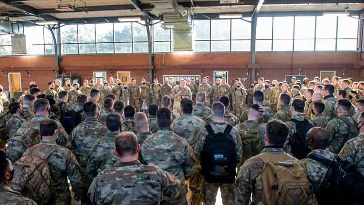 More than 600 SC National Guard members deployed to Washington for inauguration