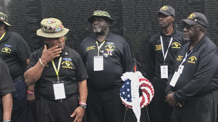 'They are heroes': SC Vietnam veterans return from pilgrimage to DC