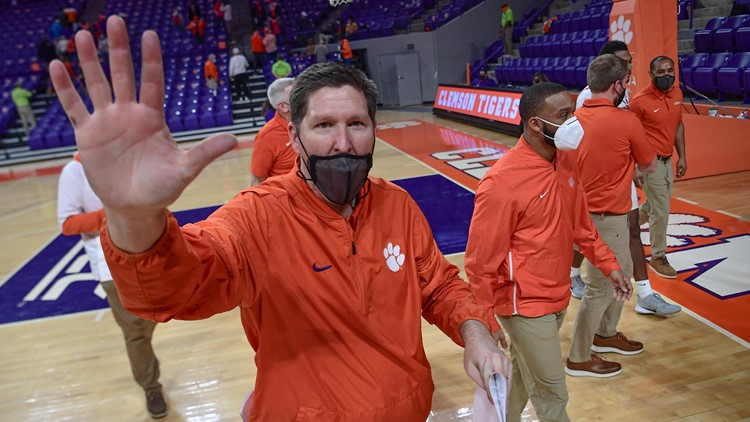Clemson's non-conference basketball schedule is released