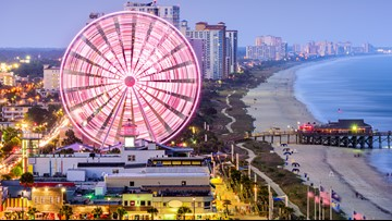 Myrtle Beach named the 2nd most romantic city in America