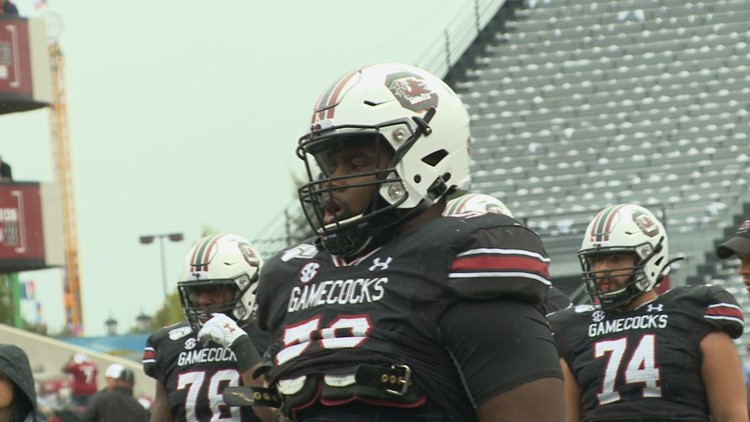 Gamecock offensive lineman declares for the NFL Draft