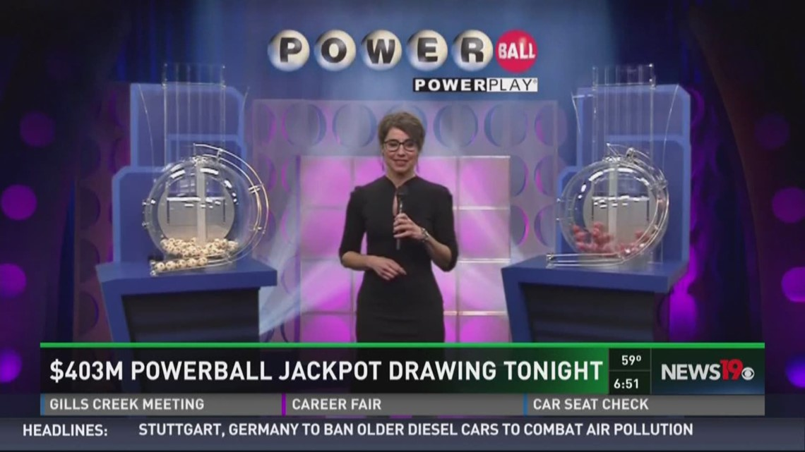 403m Powerball Jackpot Drawing Tonight Wcnc Com