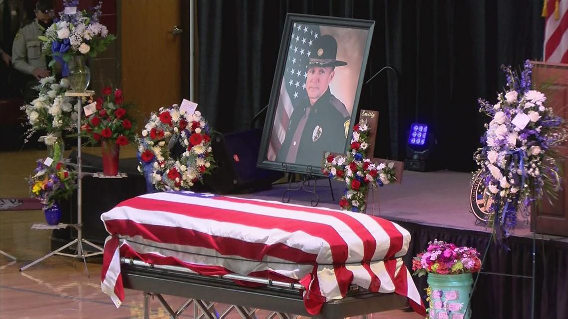 Salisbury pastor eulogizes fallen Iowa state patrol sergeant at funeral