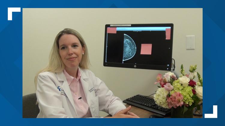 Dr. Jennifer Crozier, oncologist at Baptist Md Anderson
