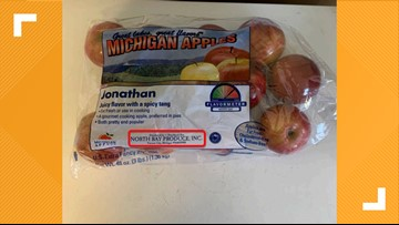 Apples recalled for possible Listeria contamination