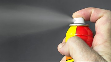 Police say people are using wasp spray to get high