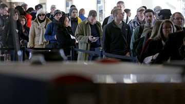 The TSA expects a record number of passengers to travel for spring break