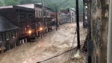 'Devastating, dangerous' | Ellicott City's Main Street hit with flooding again