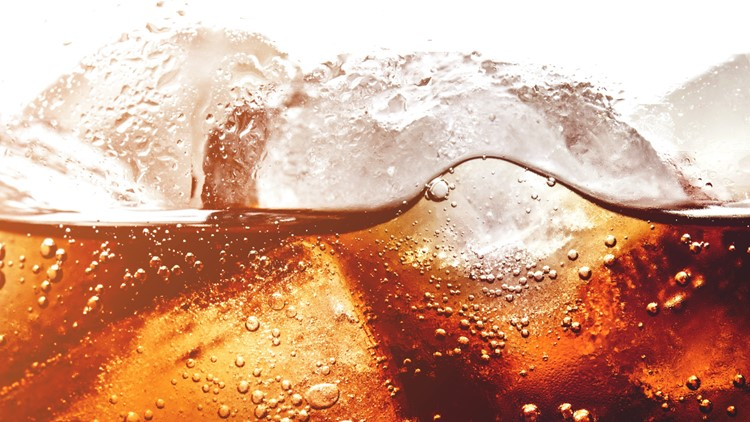ice and coke in glass generic
