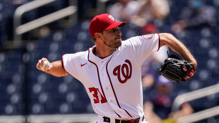 Nationals pitcher Max Scherzer and wife announce birth of their 3rd child
