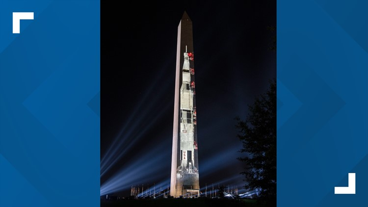 smithsonian rocket projected