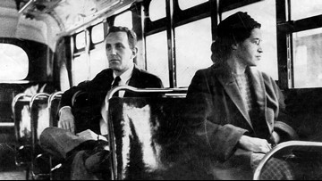 On this date in history: December 1, 1955, Rosa Parks refused to give up her seat