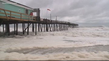 Outer Banks' Avalon Pier and Nags Head Pier heavily damaged