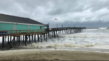 Owners of Avalon Fishing Pier on Outer Banks plan to repair after Hurricane Dorian causes heavy damage