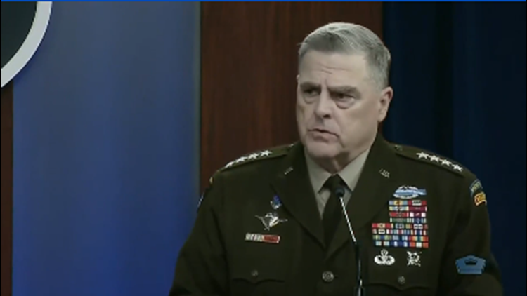Pentagon spokesman: Nothing that 'would cause concern' about Joint Chiefs' actions alleged in new book
