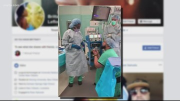 Viral video: New Orleans man proposes in surgical room