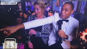 CNN's Don Lemon mistakes WWL-TV reporter for ex-girlfriend on air for New Year's Eve
