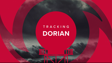 INTERACTIVE MAP: Track Hurricane Dorian
