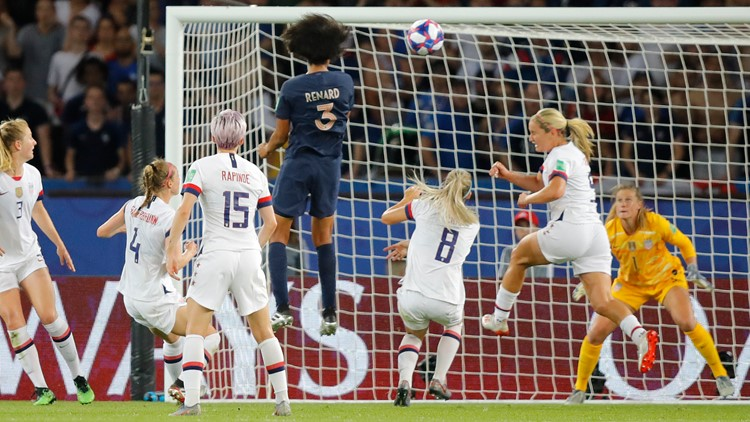 France US WWCup Soccer
