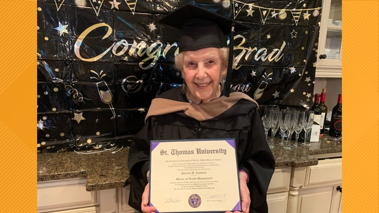 'I was nearly in tears' | 91-year-old Atlanta woman earns master's degree