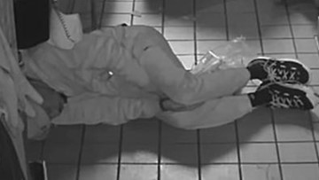 Suspect makes fast food and takes a long nap before robbing restaurant on Christmas, police say