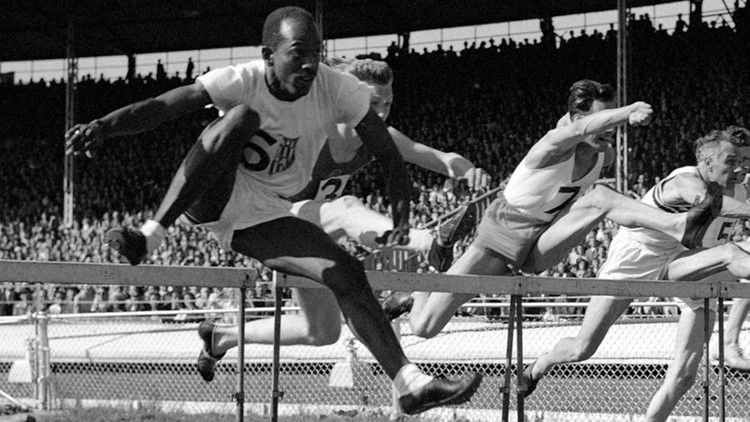 Harrison Dillard is only athlete in Olympic history to win gold medals in both sprints, hurdles | Breaking Barriers