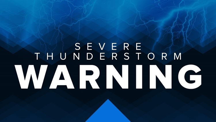 Severe thunderstorms rock the Carolinas