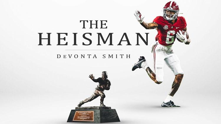 Devonta Smith wins 2020 Heisman Trophy | wcnc.com